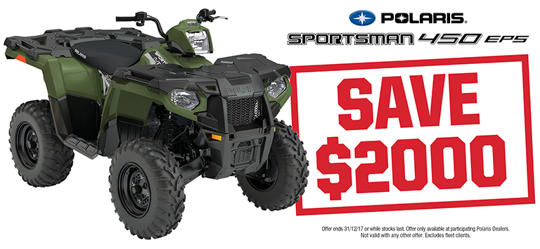 2017 Q4 Webslider_768x354_Sportsman 450 EPS Save $2000